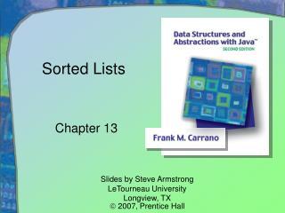 Sorted Lists
