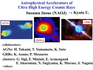 Astrophysical Accelerators of Ultra High Energy Cosmic Rays