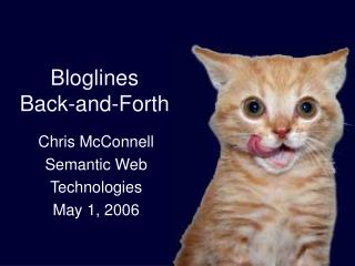 Bloglines  Back-and-Forth