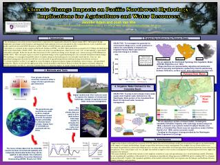 Climate Change Impacts on Pacific Northwest Hydrology: