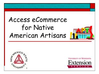 Access eCommerce for Native American Artisans