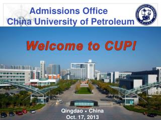 Admissions Office China University of Petroleum