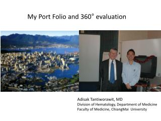 My Port Folio and 360° evaluation