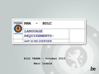 RMA - BDLC