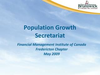 Population Growth Secretariat