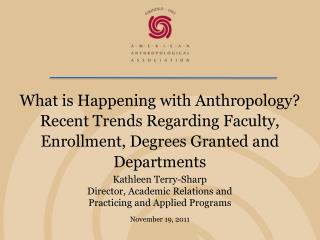 Kathleen Terry-Sharp Director, Academic Relations and Practicing and Applied Programs