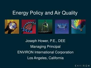 Energy Policy and Air Quality