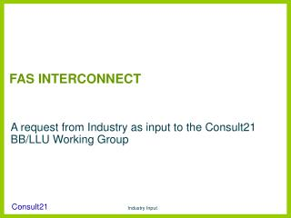 FAS INTERCONNECT
