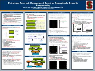 Petroleum Reservoir Management Based on Approximate Dynamic Programming