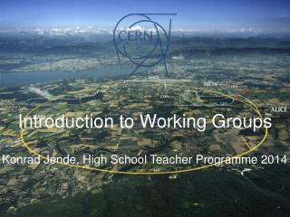 Konrad Jende, High School Teacher Programme 2014