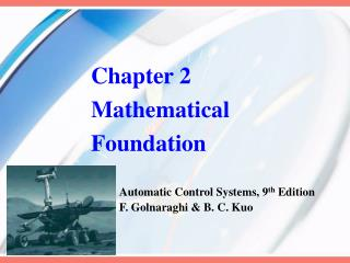 Chapter 2 Mathematical Foundation