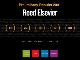 Preliminary Results 2001