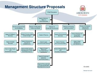Management Structure Proposals