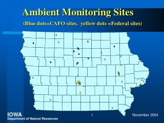 Ambient Monitoring Sites