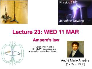 Lecture 23: WED 11 MAR