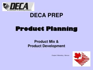 DECA PREP Product Planning