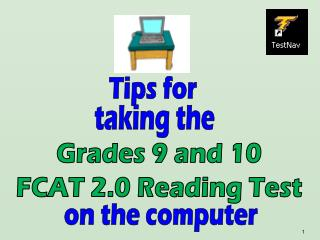 Grades 9 and 10 FCAT 2.0 Reading Test