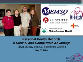 Personal Health Records A Clinical and Competitive Advantage