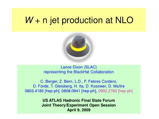 W  + n jet production at NLO