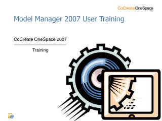 Model Manager 2007 User Training