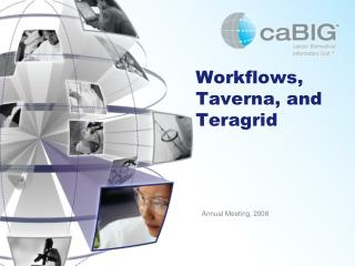 Workflows, Taverna, and Teragrid