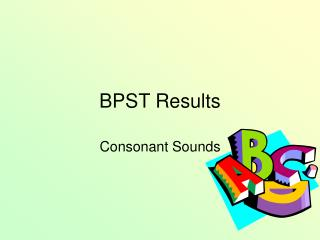 BPST Results