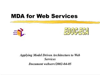 MDA for Web Services