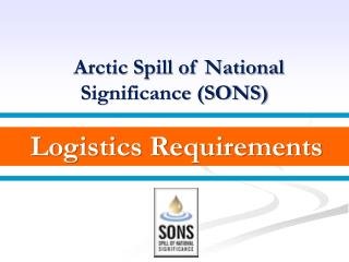Logistics Requirements