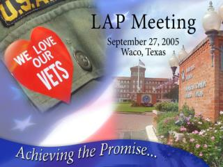 The Waco VA is a center of excellence with strong community and political support.