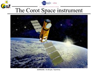 The Corot Space instrument