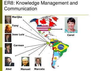 ER8: Knowledge Management and Communication