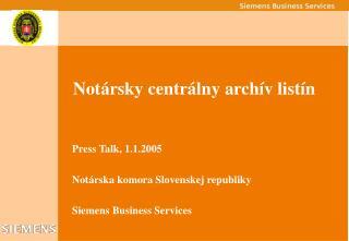 Not ársky centrálny  archív listín