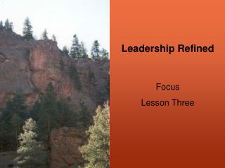 Leadership Refined