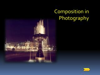 Composition in Photography
