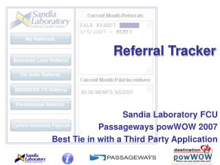 Referral Tracker