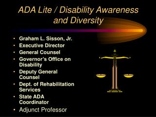 ADA Lite / Disability Awareness and Diversity