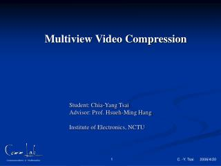 Multiview Video Compression