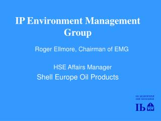 IP Environment Management Group
