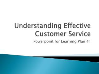 Understanding Effective Customer Service