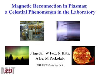 Magnetic Reconnection in Plasmas;  a Celestial Phenomenon in the Laboratory
