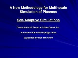 Multi-scale Computational Challenge