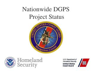 Nationwide DGPS  Project Status