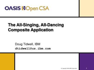 The All-Singing, All-Dancing Composite Application