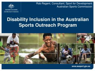 Disability Inclusion in the Australian Sports Outreach Program