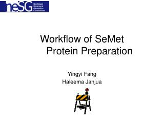 Workflow of SeMet Protein Preparation