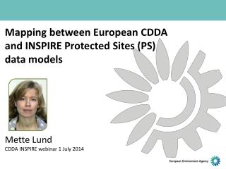 How to map CDDA elements to INSPIRE  Protected Sites
