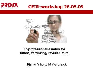 CFIR-workshop 26.05.09