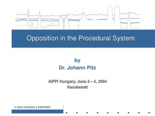 Opposition in the Procedural System