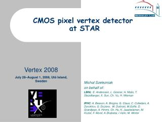 CMOS pixel vertex detector  at STAR