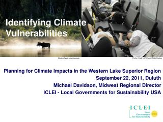 Identifying Climate Vulnerabilities